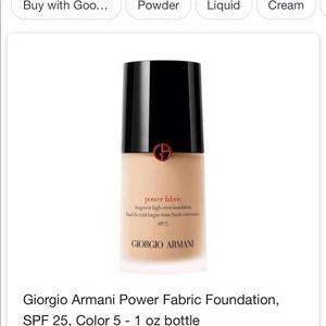 Giorgio Armani Powder fabric Shade 5